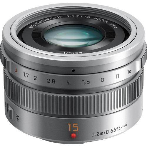 Panasonic Lens LUMIX G Leica DG Summilux 15mm f/1.7 ASPHประกันEC-MALL  Option :