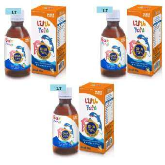 Nutrimaster Bain Syrup (DHA 70%) 150 ml 3 ขวด