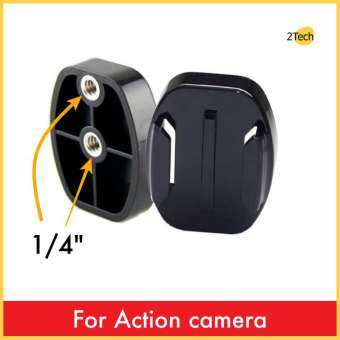 Flat Quick Release plate Tripod Mount Base Adapter for Actioncam