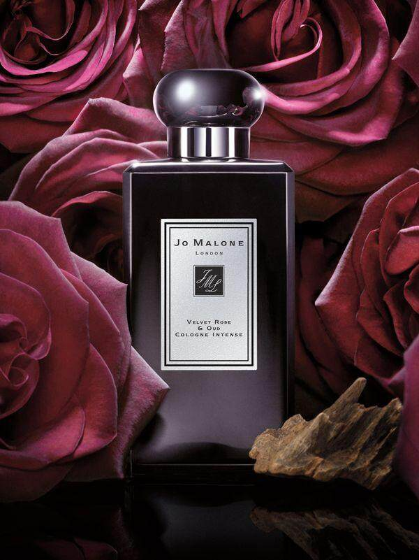 JO MALONE VELVET ROSE & OUD COLOGNE INTENSE FOR UNISEX EDC 100ML