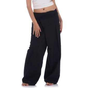 กางเกงเล กางเกงเลผ้าฝ้าย กางเกงเลขายาว กางเกงตังเก กางเกงเลผู้หญิง กางเกงขาก๊วย กางเกงสะดอ Fisherman Pants-