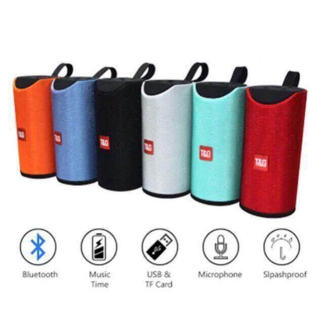 ส่งฟรี ลำโพงแบบพกพา  ลำโพงบลูทูธ T&G TG113 Super Bass Wireless Bluetooth Speaker มีของแถม ส่งฟรี