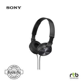 Sony MDR ZX310AP Series Balanced Sound Headphone with Mic - Black