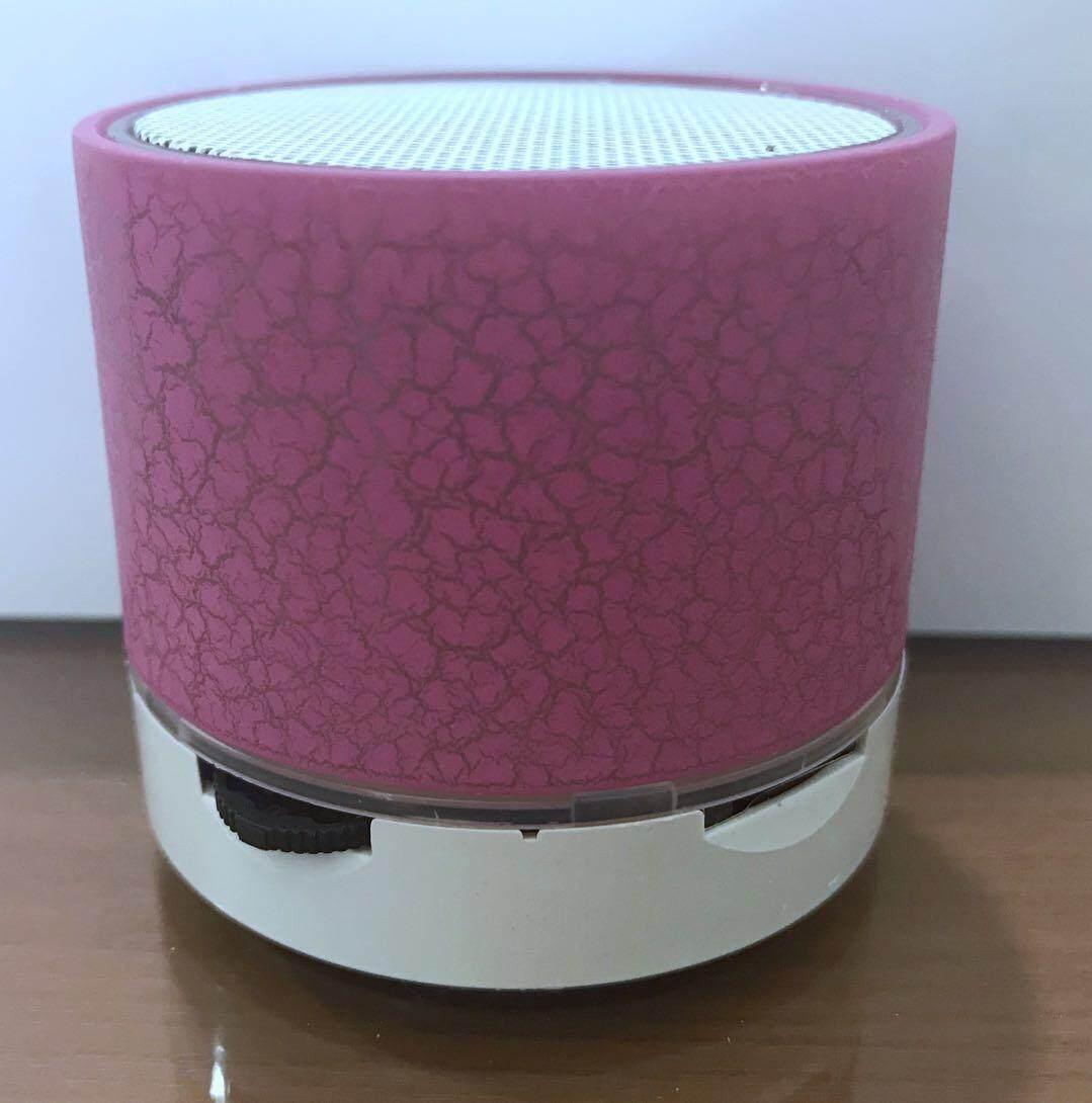 คูปอง ส่วนลด เมื่อซื้อ ลำโพงแบบพกพา Bluetooth Speaker BEST S10U ลำโพง ลำโพงบลูทูธ ลำโพงพกพา Mini Bluetooth สีชม เสียงดัง ไซน์มินิ เช็คราคาที่ดีที่สุด
