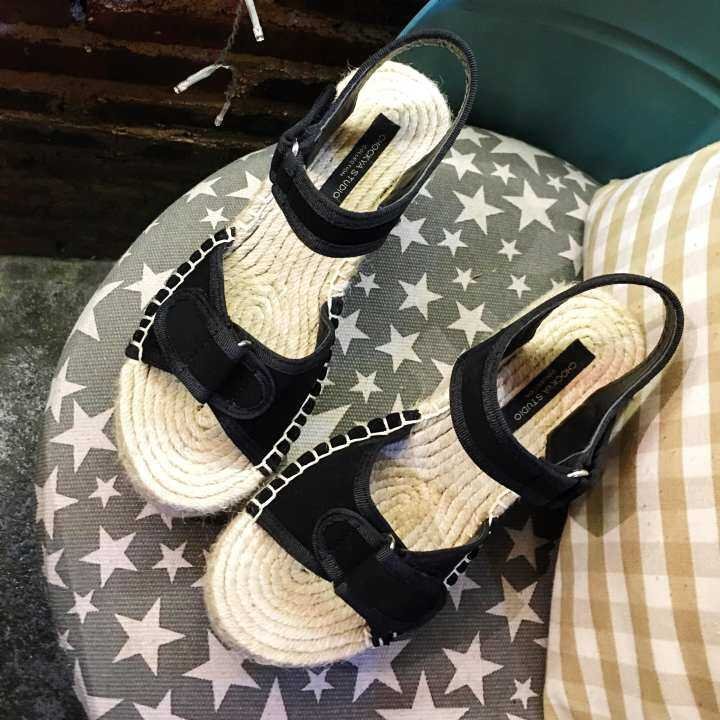 Man/Woman Summer of female of sandals 2018 2018 2018 new style of grasses weave peep-toe and waterproof set magic of thick bottom baba to stick Gao Gen Po and Han Ban's women's shoes - intl  Shopkeeper c97738