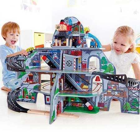Hape ของเล่นไม้ ของเล่นเสริมพัฒนาการ ขุนเขาเหมืองแร่จำลอง (สำหรับอายุ 3 ปีขึ้นไป)