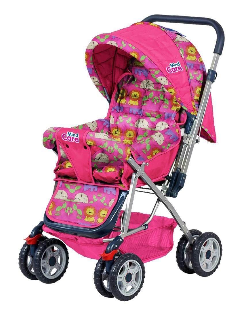 ของแท้ ลดราคา Baby รถเข็นเด็กแบบนอน baby Style รถเข็นเด็กแบบใหม่รุ่นใหญ่ เข็นหน้า-หลังได้ ท่ออลูมิเนียม น้ำหนักเบา ปรับ 3 ระดับ (นั่ง/เอน/นอน) + ของเล่นเสียงดนตรี มีที่จับและที่วางของ รุ่น?JD-906 ถูกกว่านี้ไม่มีอีกแล้ว