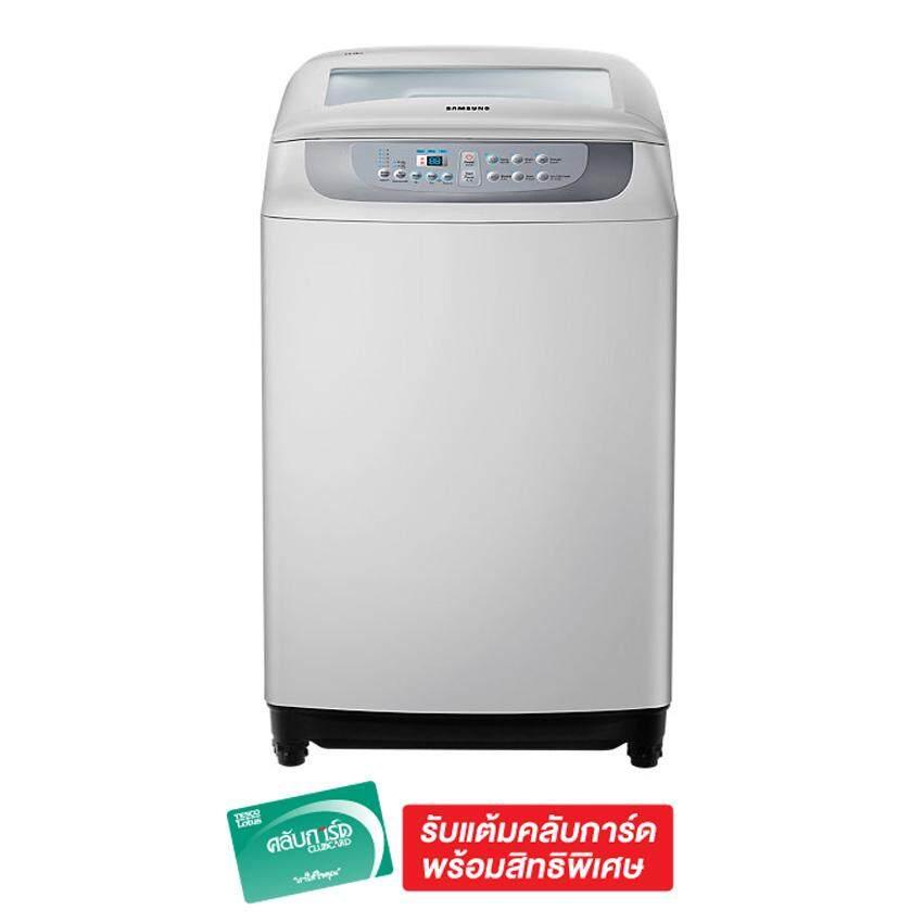 ลดล้างสต๊อกส่งท้ายปี เครื่องซักผ้า ซัมซุง ลดราคา -27% SAMSUNG เครื่องซักผ้า ฝาบน 10 กก. รุ่น WA10F5S3QRY/ST ดีจริง ๆ