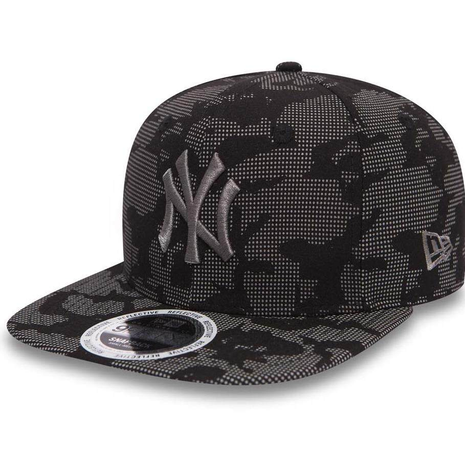 NEW ERA NY YANKEES NIGHT TIME REFLECTIVE OF 9FIFTY SNAPBACK 80536356 (Black Multi)