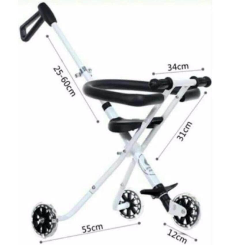 ของแท้ และรับประกัน VOVO รถเข็นเด็กแบบนอน VOVO รถเข็นเด็กพับได้ น้ำหนักเบา พกพาสะดวก ลดราคาและมีของแถม