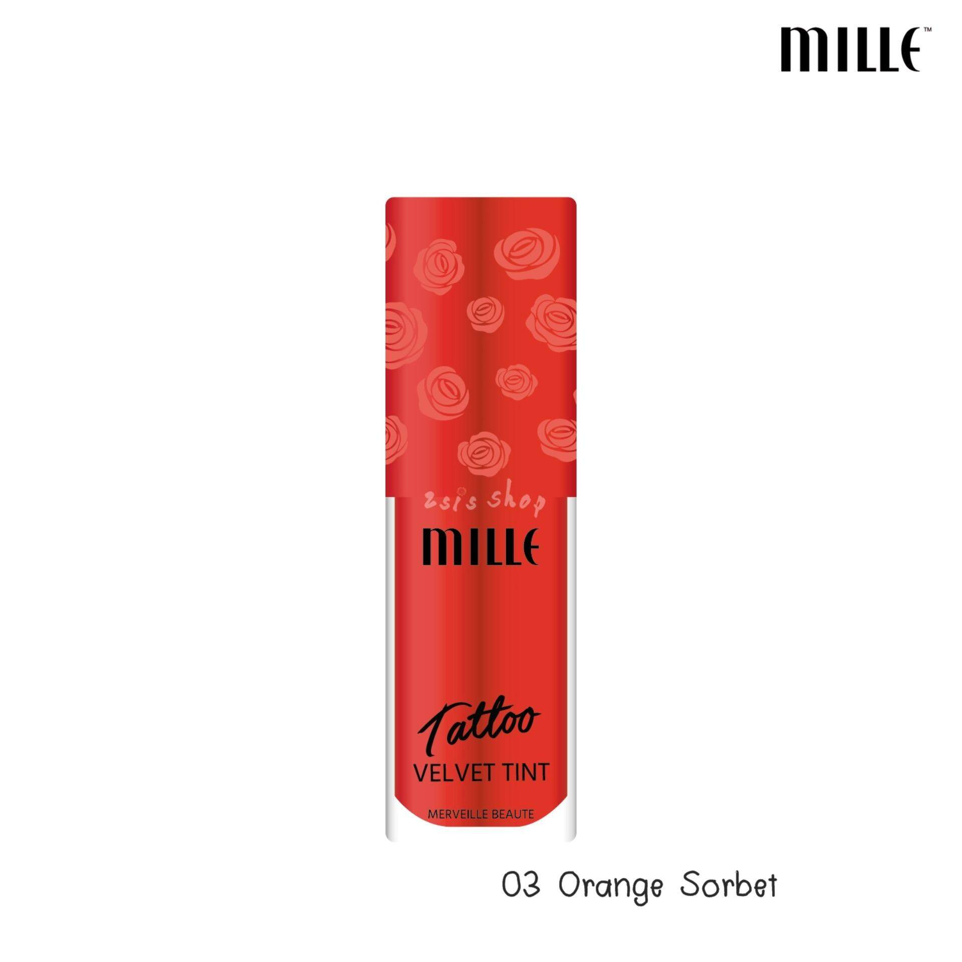 Mille Tattoo Velvet Tint #3 Orange Sorbet
