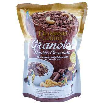 Diamond grains Double chocolate Granola 500 g.