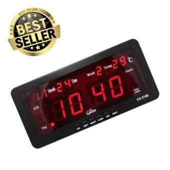 รีวิว Caixing นาฬิกาดิจิตอล รุ่น CX-2158 – Black