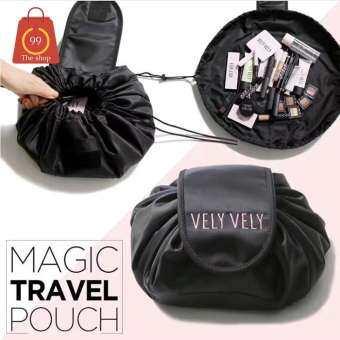 โปรโมชั่น กระเป๋าใส่เครื่องสำอาง vely กระเป๋าอนเกประสงค์ บรรจุได้ มากหยิบใช้ง่าย