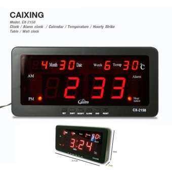 ราคา Caixing นาฬิกาดิจิตอล รุ่น CX-2158 – Black