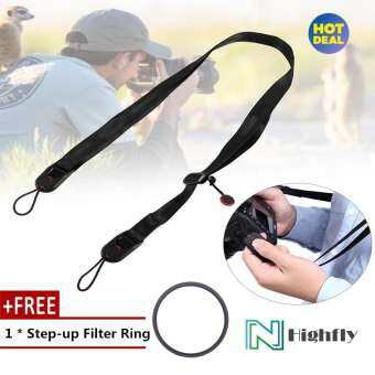 【Free Gift】Adjustable Camera Shoulder Strap Sling With Quick Release Buckle For Digital Cameras(Blac