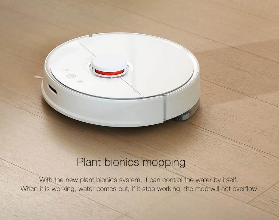 แนะนำรุ่นใหม่ Xiaomi Mijia Roborock Robot Vacuum 2 - Zendrian หุ่นยนต์ดูดฝุ่นรุ่น 2 กวาดพื้น,ดูดฝุ่น,และถูพื้น 3 อย่างใน 1 เดียว ซื้อเว็บไหนไม่โกง
