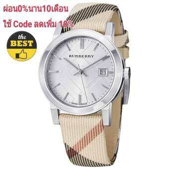 Burberry Women's BU9113 Large Check Nova Check Strap Watch