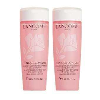 ซื้อที่ไหน Lancome Tonique Confort Re-Hydrating Comforting Toner With Acacia Honey 50ml (2ชิ้น)
