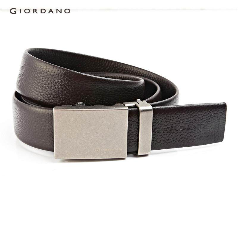 Giordano Men Retro automatic buckle belt [Free Shipping] 90135005