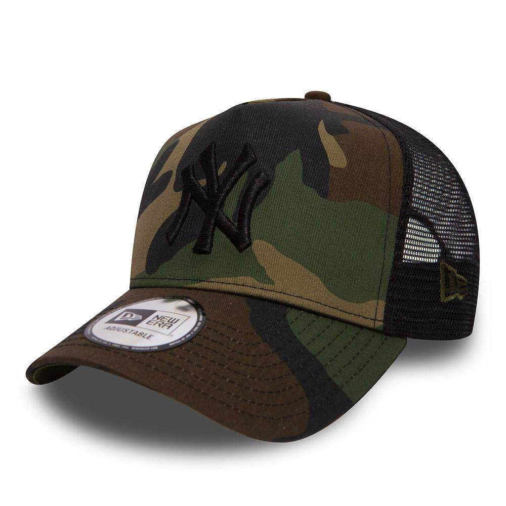NEW ERA NEW YORK YANKEES  TEAM A FRAME TRUCKER 80536758 (CAMO)
