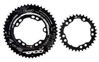 5G NANO Doval Chainring 52-36 BCD110 for 4~5arm