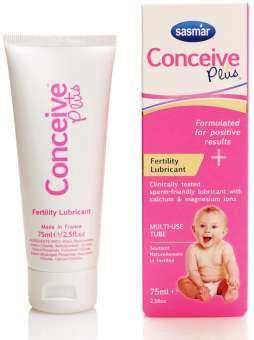 Sasmar Conceive Plus เจลหล่อลื่นสำหรับผู้ต้องการมีบุตร ขนาด 75 มล.exp2/22