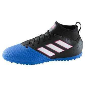 รองเท้า อดิดาส Adidas ของแท้ Model Junior ACE 17.3 Turf สีน้ำเงิน-ดำ รองเท้าสำหรับฟุตบอลหญ้าเทียม-
