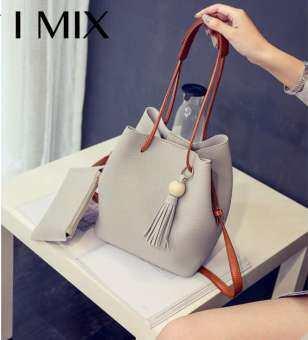 I MIX กระเป๋าสะพายข้างแฟชั่น กระเป๋าหนัง กระเป๋าสะพายไหล่ กระเป๋าหนังสะพายข้าง กระเป๋าแฟชั่นสตรี BAG-
