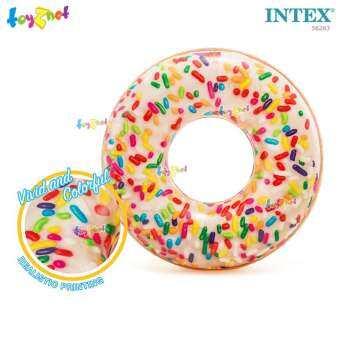 Intex ส่งฟรี ห่วงยาง เป่าลม สปริงเกิ้ล โดนัท 1.14 ม. รุ่น 56263