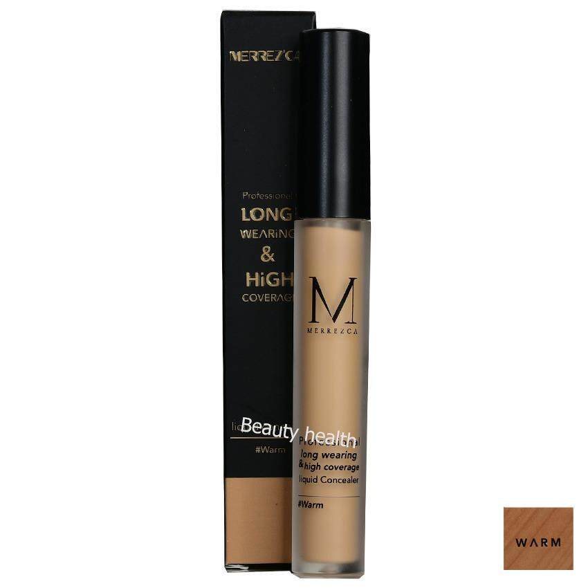 Merrez'ca Professional long wearing& hight coverage liquid concealer (4 กรัม x 1 แท่ง)
