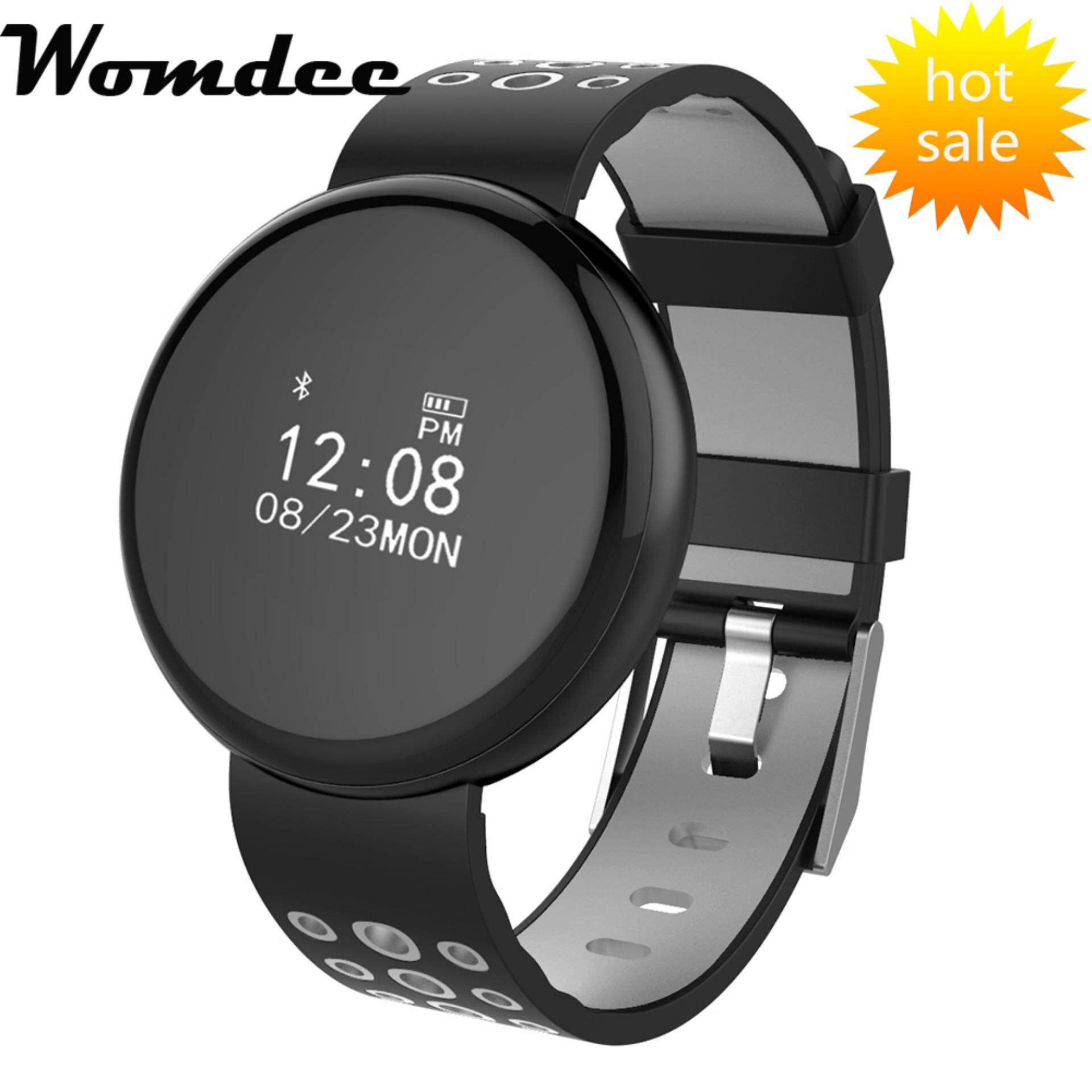 Womdee I8 IOS/Android Smartwatch Bluetooth Waterproof IP68 Heart Rate Monitor Blood Pressure Pedometer Sport SmartWatch – intl