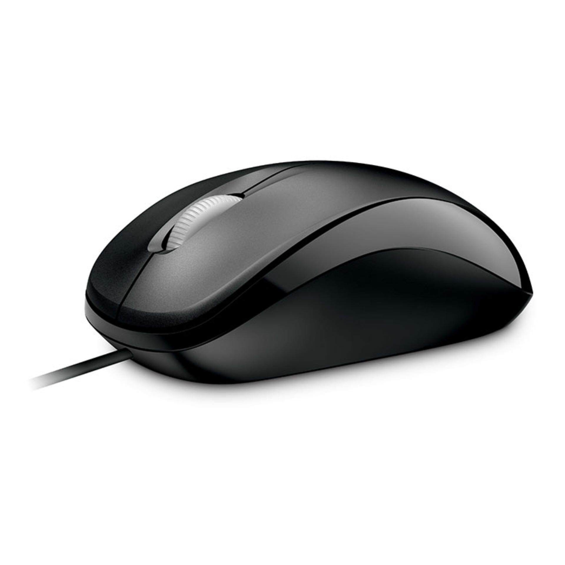 [เมาส์] Microsoft Compact Optical Mouse (สีดำ) McsAcc