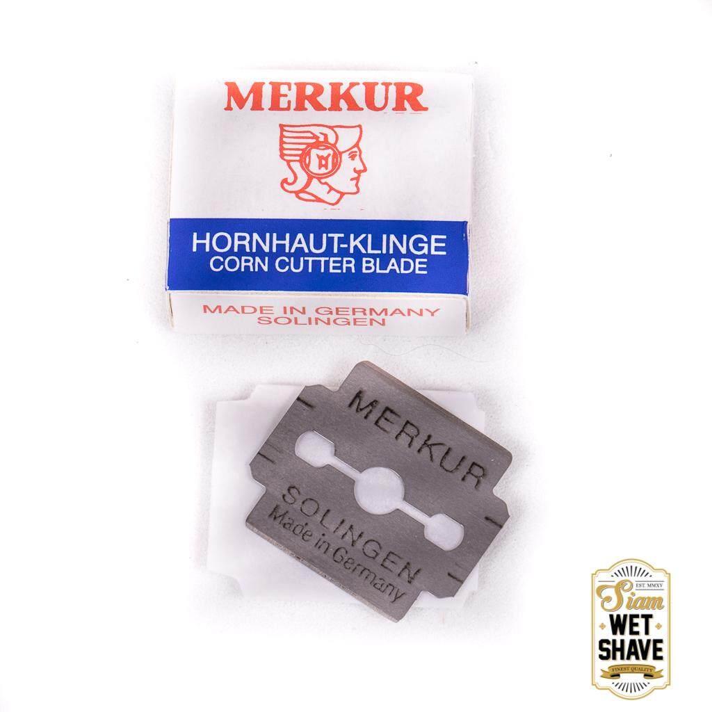 ใบมีดโกน MERKUR สำหรับขัดเท้าและขูดตาปลา ใบมีดขูดเท้า ใบมีดขูดตาปลา ใบมีดขูดส้นเท้า