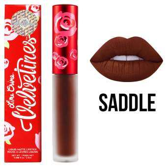 Lime Crime Velvetines #Saddle 2.6 ml. (Rusty Brown)