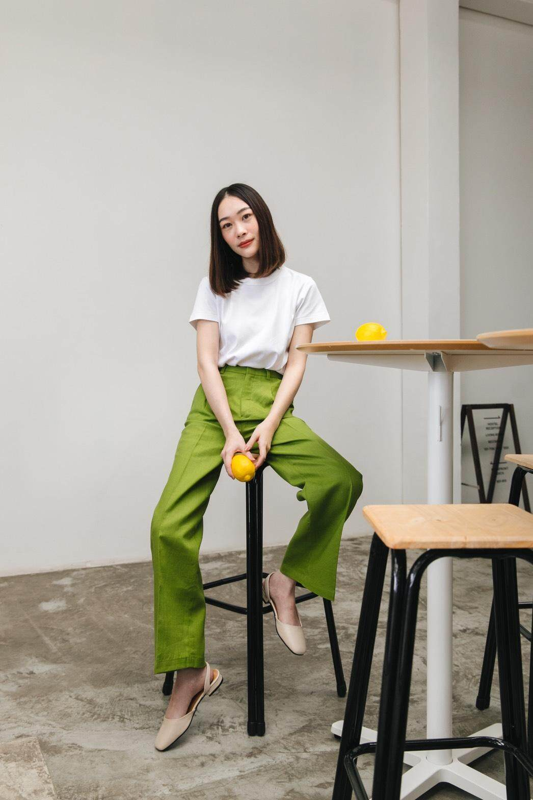 Butterscotth 70/s teens trousers (colorful color)