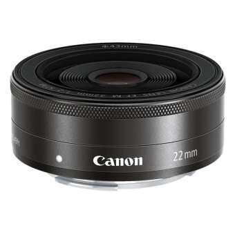 Canon Lens EF-M 22mm F/2 STM Black (Nobox)