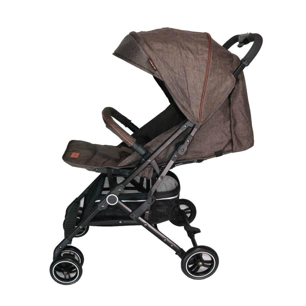 นี่คืออันดับ1 unbranded/generie รถเข็นเด็กสามล้อ Ninaj รถเข็น 3 ล้อ มีไฟกระพริบ มีด้ามจับคล้ายก้านร่ม  มีเข็มขัดนิรภัยสำหรับเด็ก (Premium Stroller) ของแท้ เก็บเงินปลายทาง ส่งฟรี