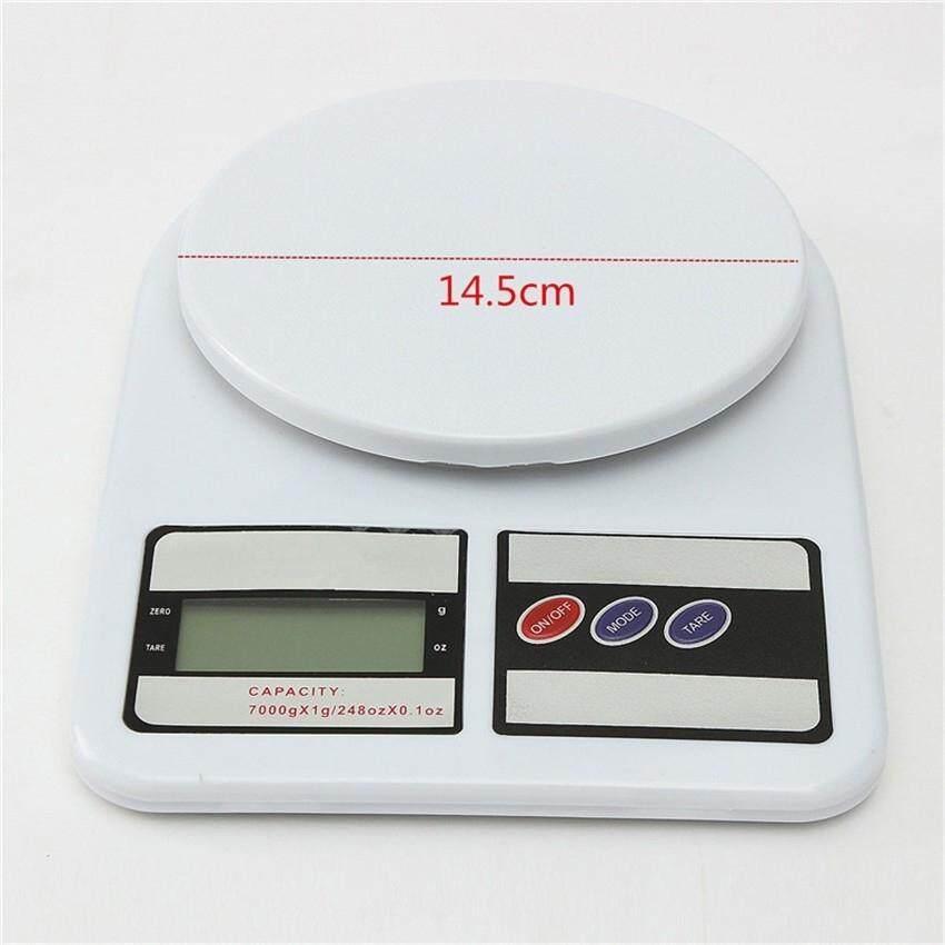 Image 4 for สินค้ามาใหม่!! ตาชั่งผลไม้สีขาว ตาชั่งผัก ตาชั่งในห้องครัว Max 10 Kg. รุ่น SF-400 (White)