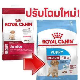 Royal Canin Puppy Medium Dog 1kg. อาหารลูกสุนัขพันธุ์กลาง-