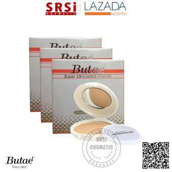 Butae แป้ง บูเต้ #01 (Butae Super Oil-Control Powder Double Formula) x 3 ชิ้น