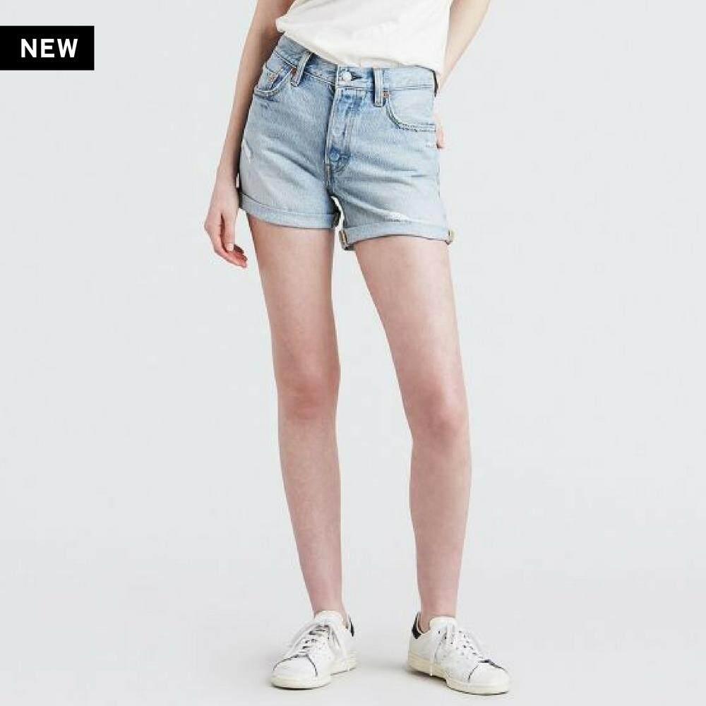 กางเกงยีนส์ Levi's® 501® Long Shorts - NORTH BEACH BLUE