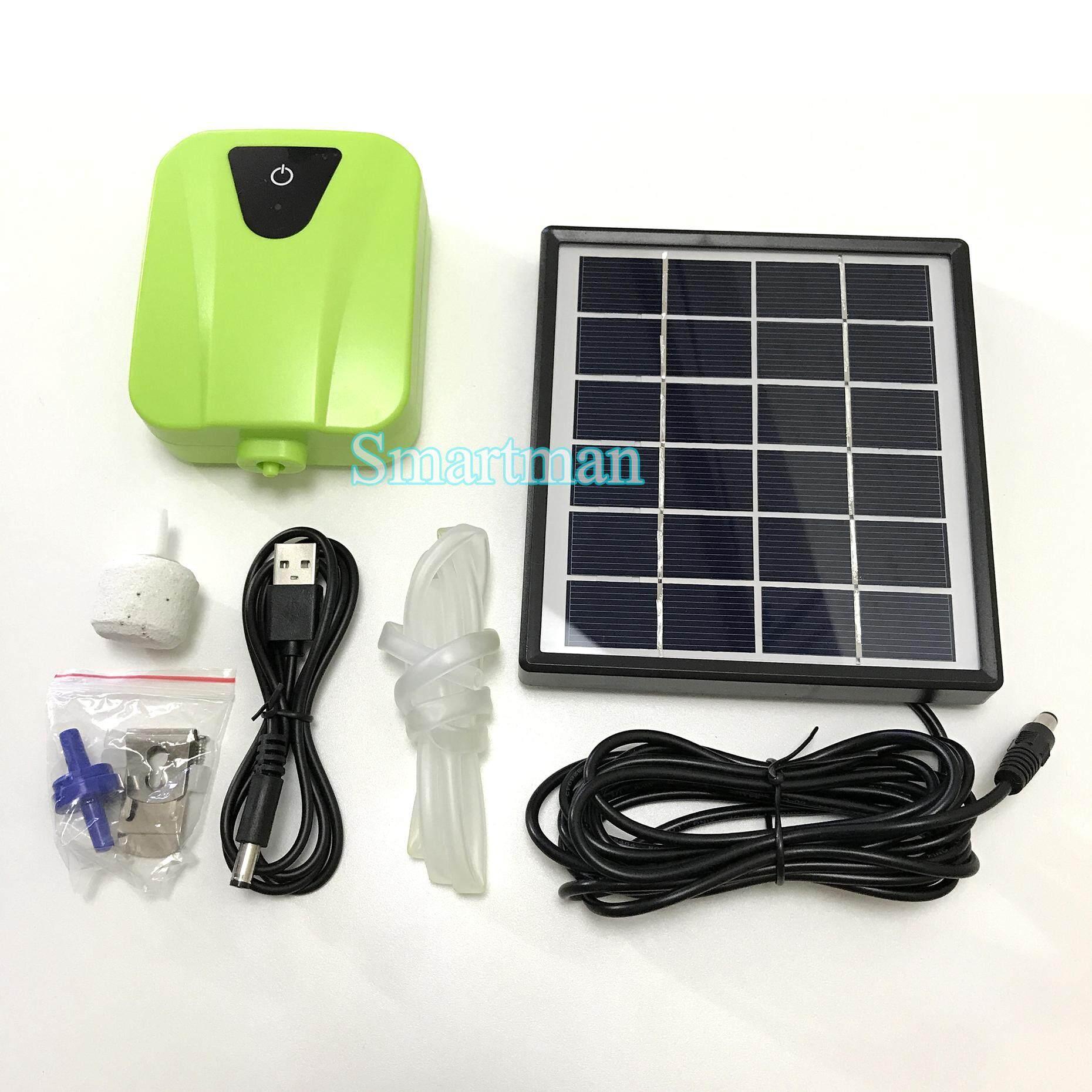 Image 2 for Smartman-Solar Pumb 0.5w ปั๊มออกซิเจน โซล่าเซลล์ 0.5 วัตต์