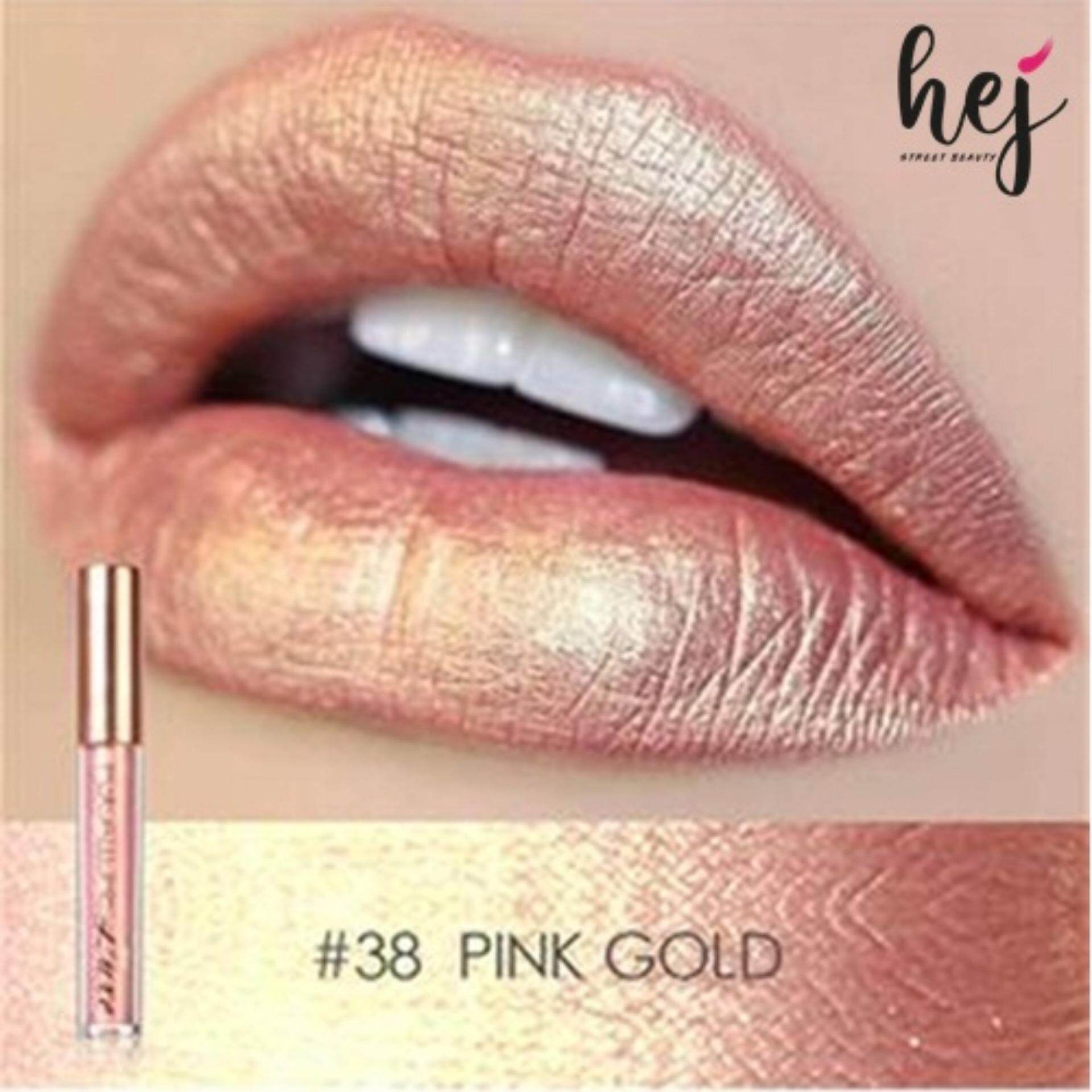 Focallure Metallic Waterproof Lipstick #38