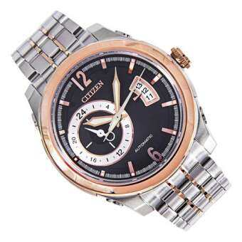 Citizen Mechanical Sapphire Crystal นาฬิกาข้อมือชาย Dress Watch NP3004-53E
