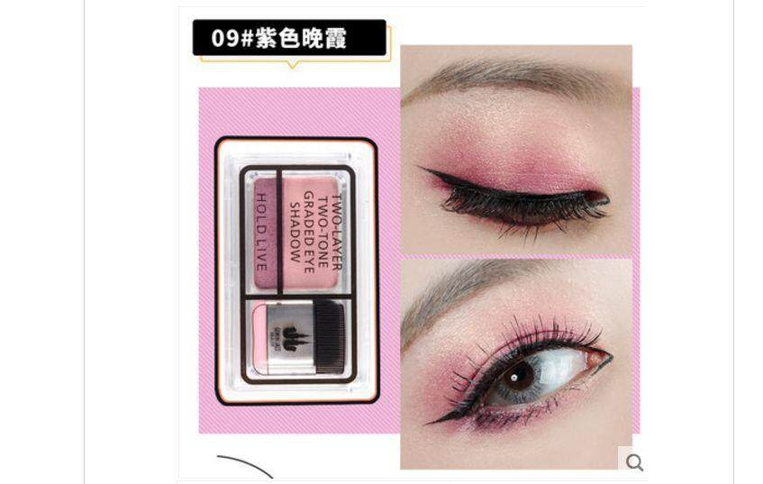 HOLD LIVE ALL ABOUT EYE  lazy two-tone eye shadow#09 (1ชิ้น)