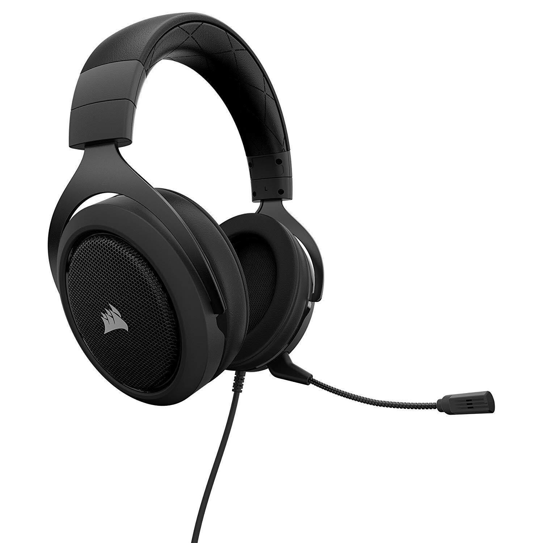 ที่ไหนลดราคา Corsair HS50 Stereo Gaming Headset สีดำ ประกันศูนย์ 2ปี ของแท้ หูฟังสำหรับเล่นเกม (Black) ดีที่สุด 2562