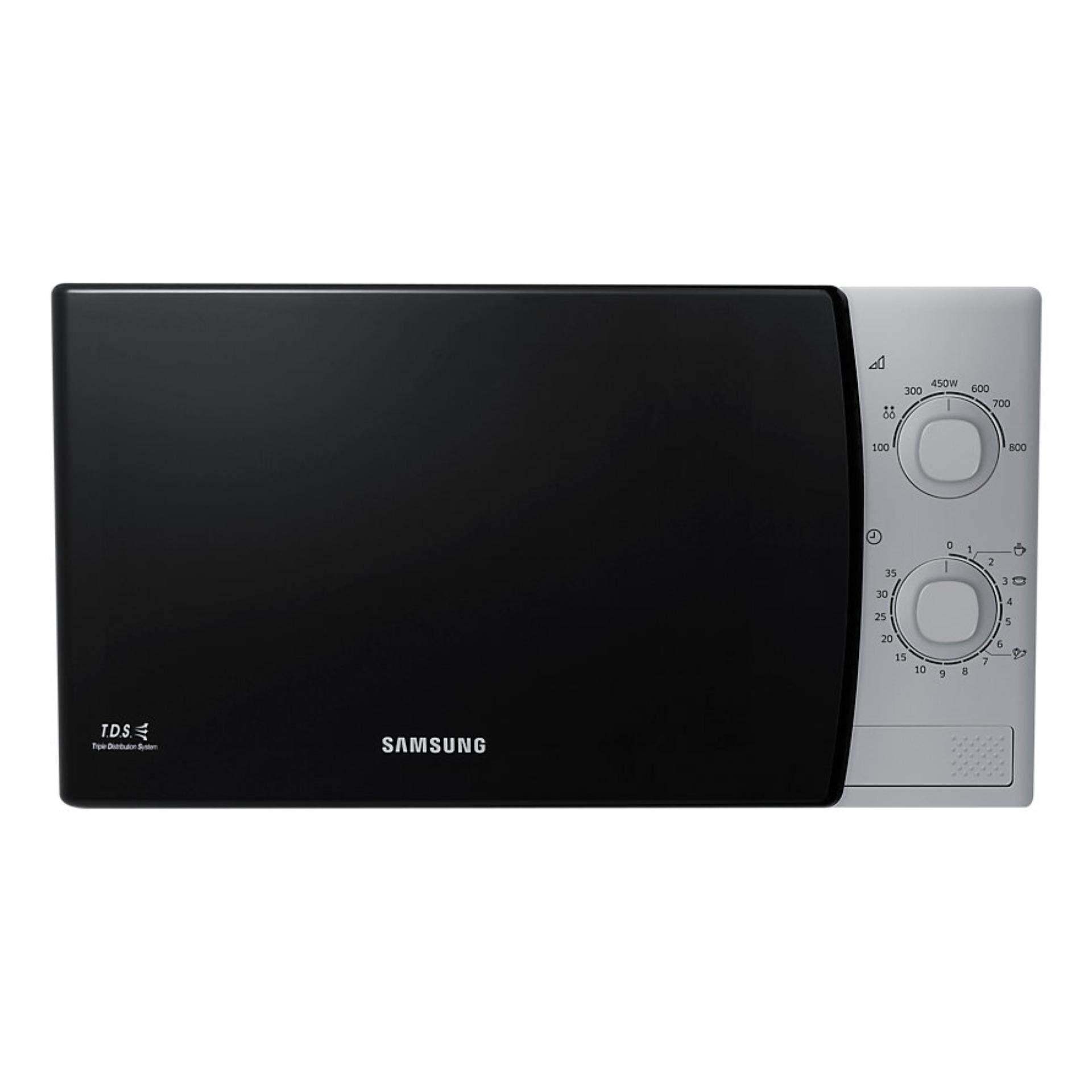 Samsung เตาอบไมโครเวฟ ความจุ 23 ลิตร รุ่น ME81KS-1/ST  - d77e1b52b6756ed298cd45b7b753c87f - Klass Oven หม้ออบลมร้อน