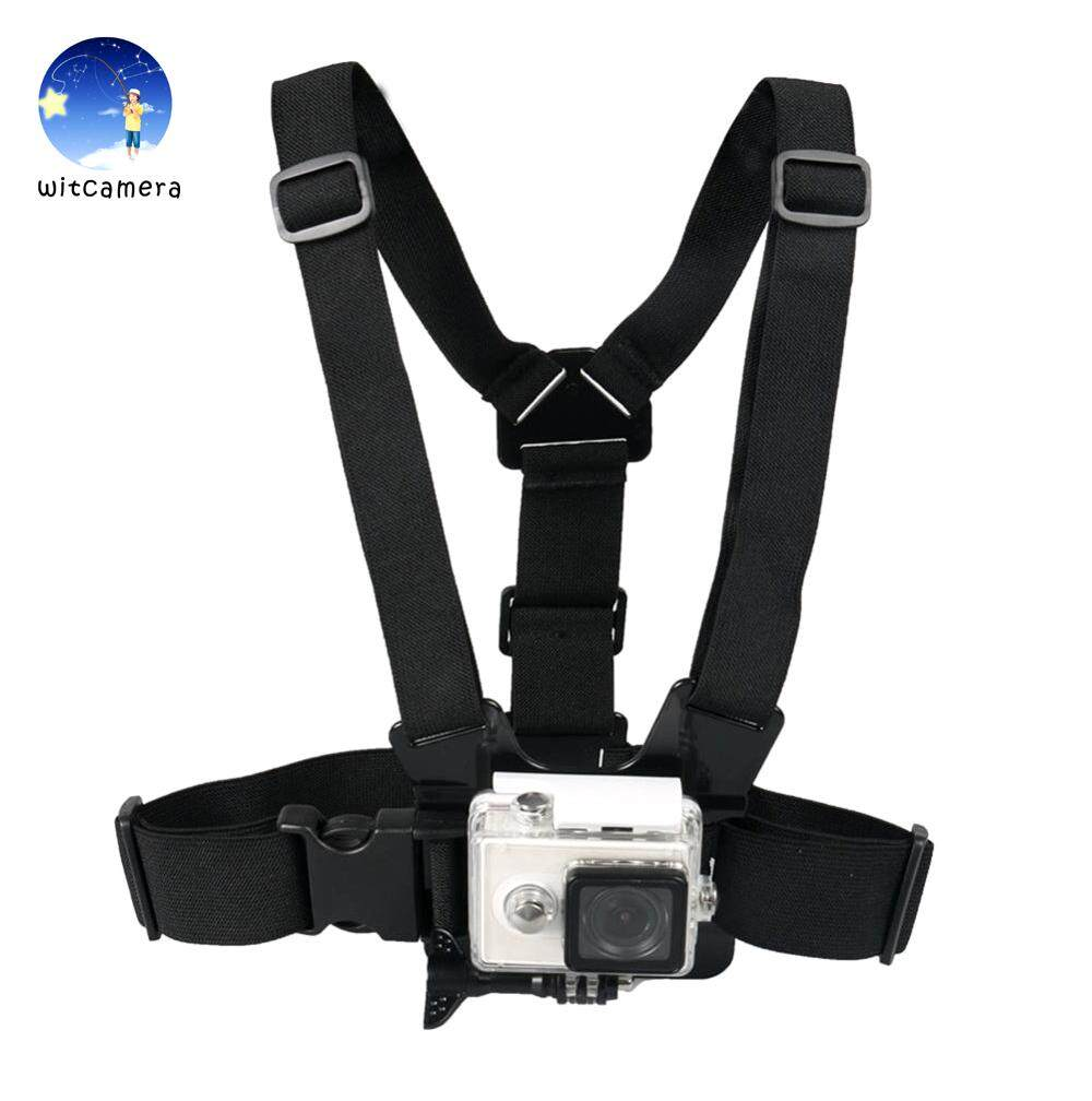 สายคาดอกพร้อมอุปกรณ์ GoPro Chest Strap Belt Body Tripod Harness Mount For Gopro Hero 6 5 4 3+ 3 SJCAM Xiaomi Yi Camera