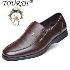 Giày công sở nam chất liệu da thật cao cấp sang trọng êm chân thoáng khí